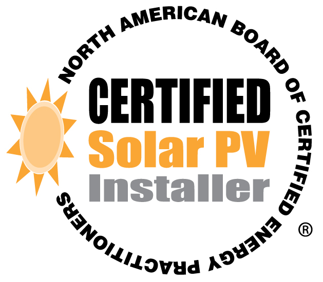 NEBCEP Certified Solar PV Installer Seal